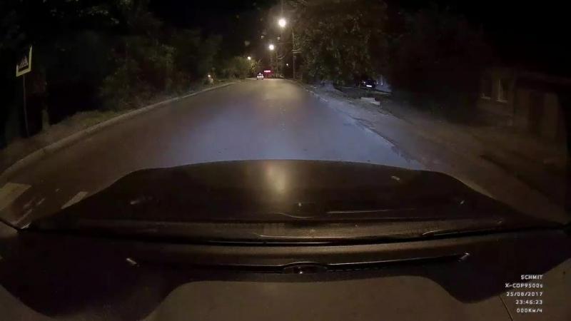 Авто подстава в Воронеже 25 08 2017г