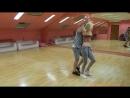 Уставшие после занятий,но опьяненные танцем))).Vitaliy Gudimenko & Lana-love,bachata.Breeze Dance
