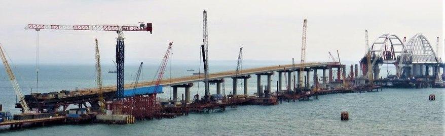 Минтранс назвал новые сроки открытия моста в Крым