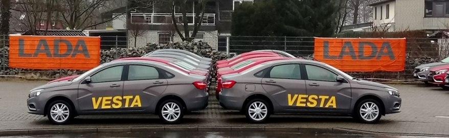 Стало известно, сколько машин АВТОВАЗ продаёт в Европе