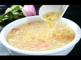 Суп с клёцками и морепродуктами