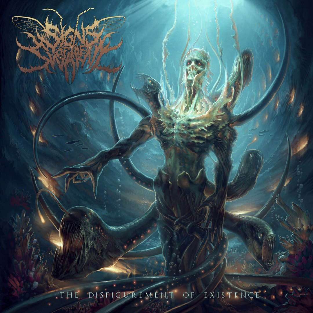 Signs Of The Swarm - The Disfigurement Of Existence (2017)