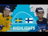 Полуфинал ЧМ-2017. Швеция - Финляндия - 4:1.
