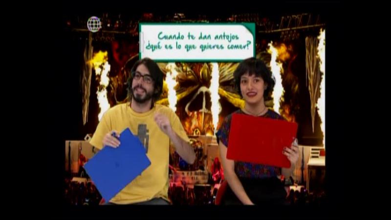 Manuel Gold y Jely Reategui en secuencia Ya Tu Saes