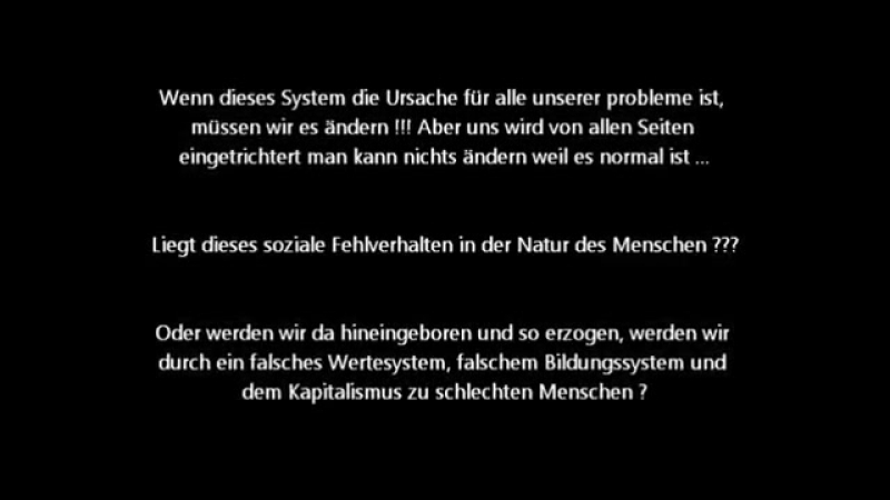 Ihr wollt die Wahrheit 3_3 Die System Lösung