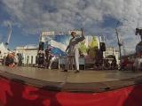 Кристи ''Э+ХО Москва l судейский выход на фестивале Тротуар