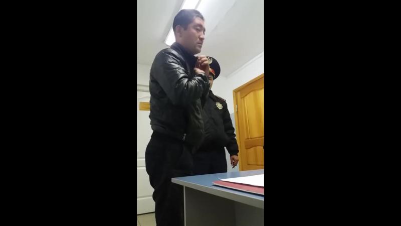 Опер уполномоченный Баймурзин Айдын, задержан в нетрезвом состояние за рулем... Ростовская 50 город Павлодар