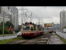 Санкт-Петербург . Трамвай 47 маршрут.СМЕ ЛВС-86К. 2017 год