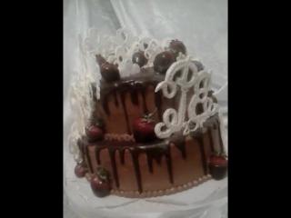 Тортландия.100 % шоколадный торт ( идеален в жаркое время года)