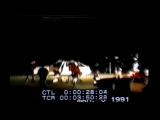 Избиение Родни Кинга полицией Лос-Анджелеса в 1991 г. (Фрагменты видео из док. фильма)