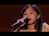 Очаровательная 9-летняя девочка фантастически спела на шоу талантов