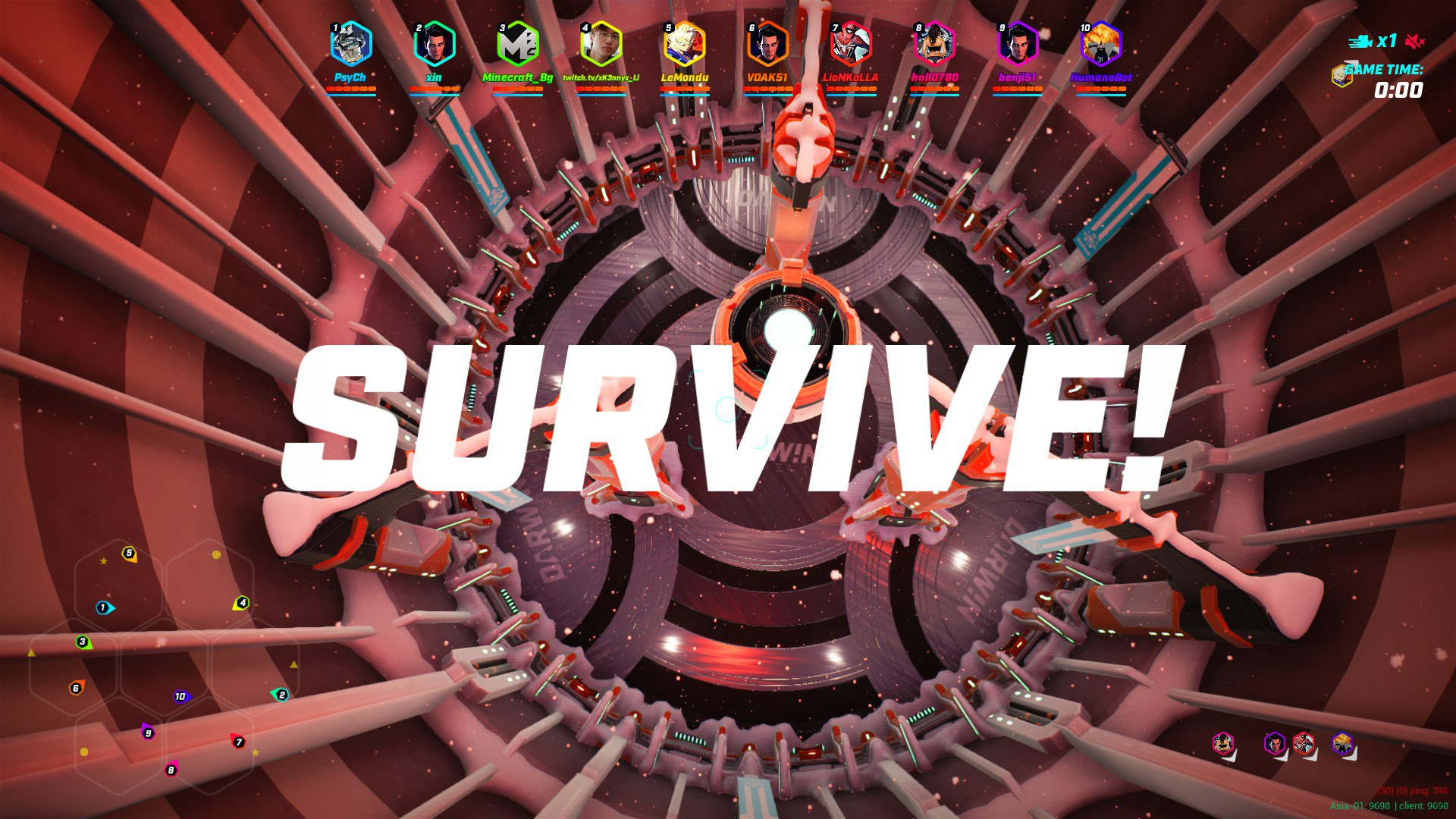 Survive at Darwin Project
