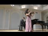 Скорик. Карпатская рапсодия. Исп. Анна Савкина (скрипка), Дмитрий Калашников (фортепиано)
