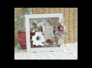 Altered Christmas Frame with Lemoncraft Step by step