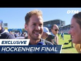 Sebastian Vettel visits the DTM final - DTM Hockenheim Final 2017