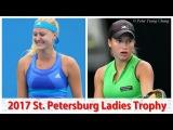 Kristina Mladenovic vs Yulia Putintseva 2017 St. Petersburg FINAL Highlights HD720p50 by ACE