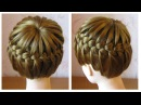 Tuto coiffure tresse serre-tête ♛ Tresse couronne cheveux mi longs ♛ Crown Braid