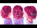 ★Быстрая прическа из резиночек ★ Прическа на ровные волосы★ QUICK AND EASY HAIRSTYLES★ LOZNITSA
