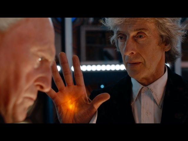 Превью рождественского эпизода сериала Доктор Кто / The First Doctor Enters The Twelfth Doctor's TARDIS - Christmas Special Preview - Doctor Who - BBC