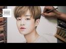 워너원_이대휘 그림 그리기 (Speed Drawing Wanna One_Lee Dae Hwi) [Drawing Hands]
