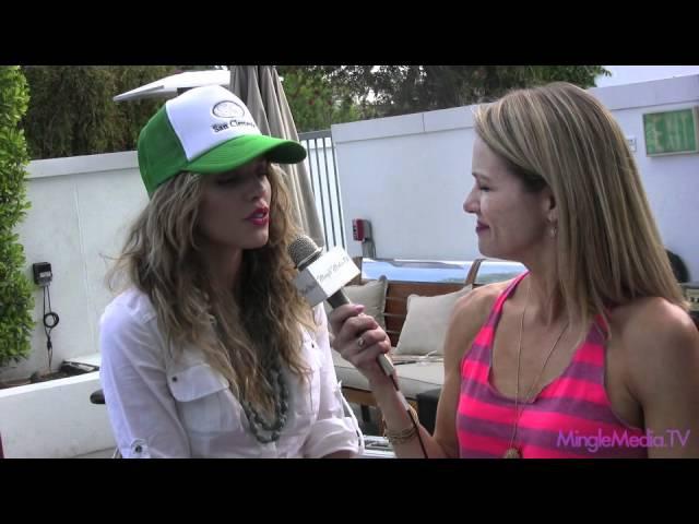 Annalynne McCord of 90210 at GBK MTV Movie Awards 2011 Gifting Lounge