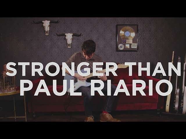 Ernie Ball Paradigm: Strong Than Paul Riario