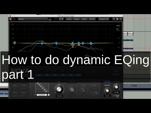 How to do dynamic EQing – part 1