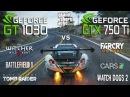 GT 1030 vs GTX 750 Ti Test in 7 Games Pentium G4560
