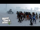 GTA 5 Зомби Апокалипсис 23 - ЗИМА!! ГТА 5 МОДЫ