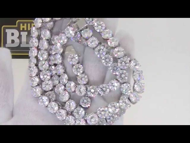 Bling Bling Never Fade 8MM 1 Row Chain | Hip Hop Jewelry