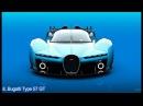 Top 10 BEST Bugatti Concept Cars