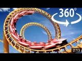 360 VR 3D VIDEO 4K !!! Extreme RollerCoaster at Seoul Grand Park