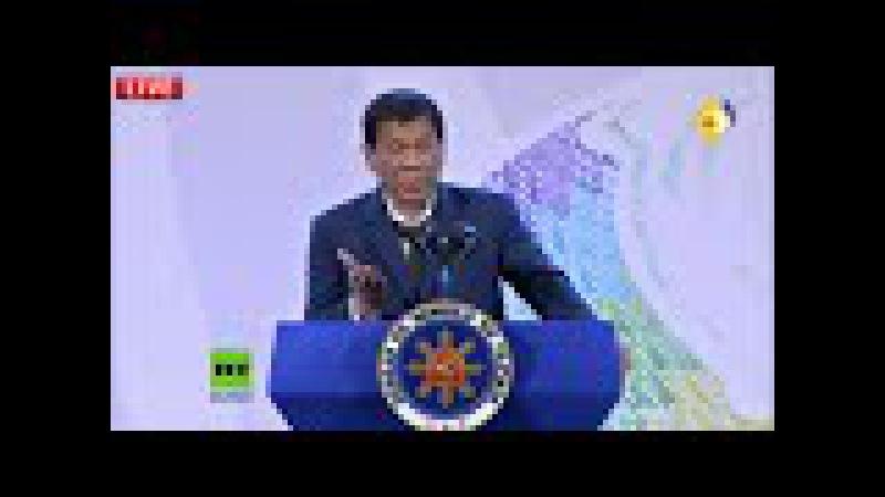 Reporter bringt Duterte auf die Palme ''Ich beantworte den Sch*** von Ausländern nicht mehr''