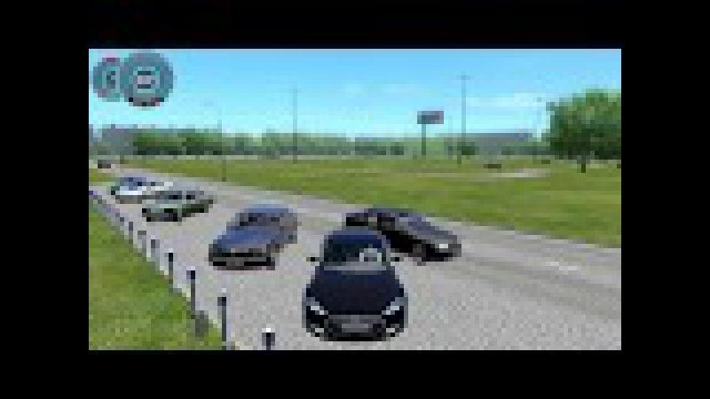 City Car Driving Tesla Model S