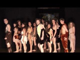 CULT DANCE: Сult of a female deity PremЭra №6 Танец. М.Масляков. Рук. А.Л.Булгаков. СПб2014г.