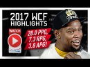 Kevin Durant WCF Offense Highlights VS Spurs 2017 Playoffs - The Slim Reaper!