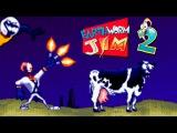 Earthworm Jim 2 (Червяк Джим 2) прохождение (Sega Mega Drive, Genesis)