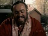 Luciano Pavarotti Listening to Giuseppe Di Stefano