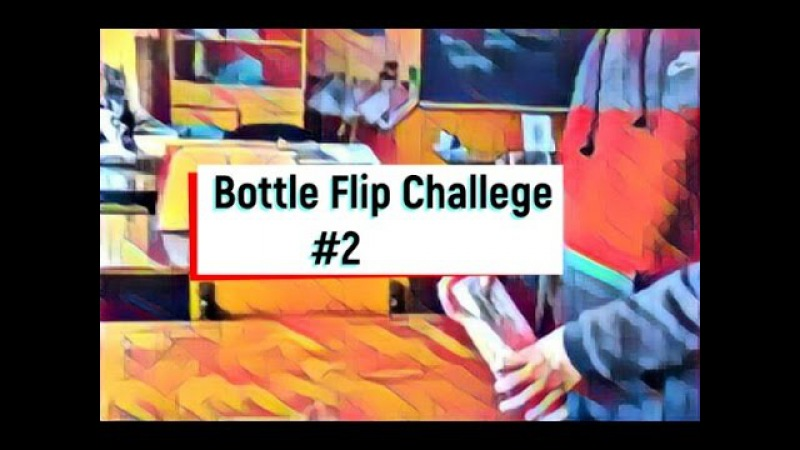 ФЛІП НА КРИШКУ|Water Bottle Flip Challege