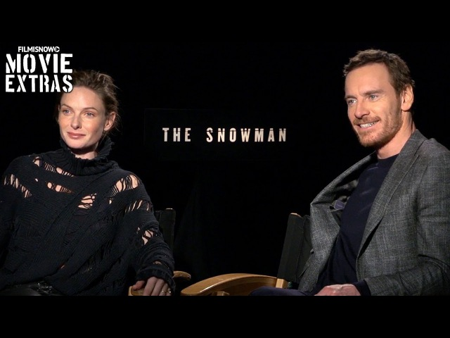 The Snowman (2017) Michael Fassbender Rebecca Ferguson talk about the movie