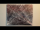 Abstract Painting Art Demo - Life Lines Embrace The Matrix