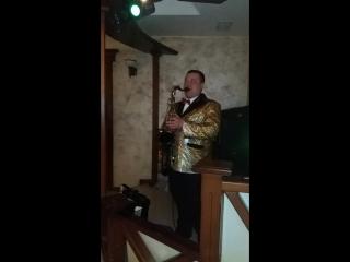 Солідний Ігор та саксофон (весілля
