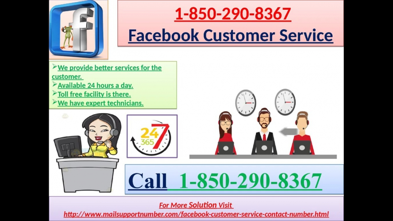 Get a Quick Response from 1-850-290-8367 Facebook Customer Service