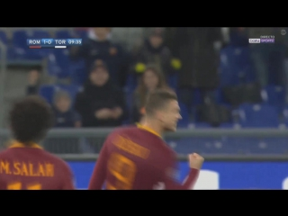 Рома - Торино. Гол Джеко