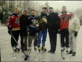 NHL Pond Of Dreams Promo-Spot / Павел Буре и Pond of Dreams ( Каток мечты, Матч Звезд НХЛ 2000)