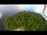 Карелия, край лесных озер и рек.