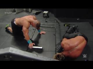 38. Брок Леснар против Джона Сины против Сета Роллинса; 25 января 2015 года; матч тройной угрозы; Royal Rumble 2015