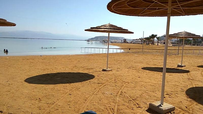 2017. Израиль. Мёртвое море. Эйн-Геди. Пляж