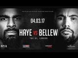 Хэй - Белью / David Haye vs Tony Bellew highlights
