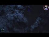 Взгляд на пролетающие метеоры с высоты 400 км. Видео в реальном времени